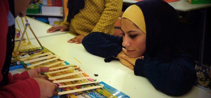 Décrochage scolaire : de nouvelles manières d'apprendre en Jordanie